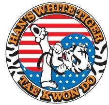 Hans White Tiger Tae Kwon Do