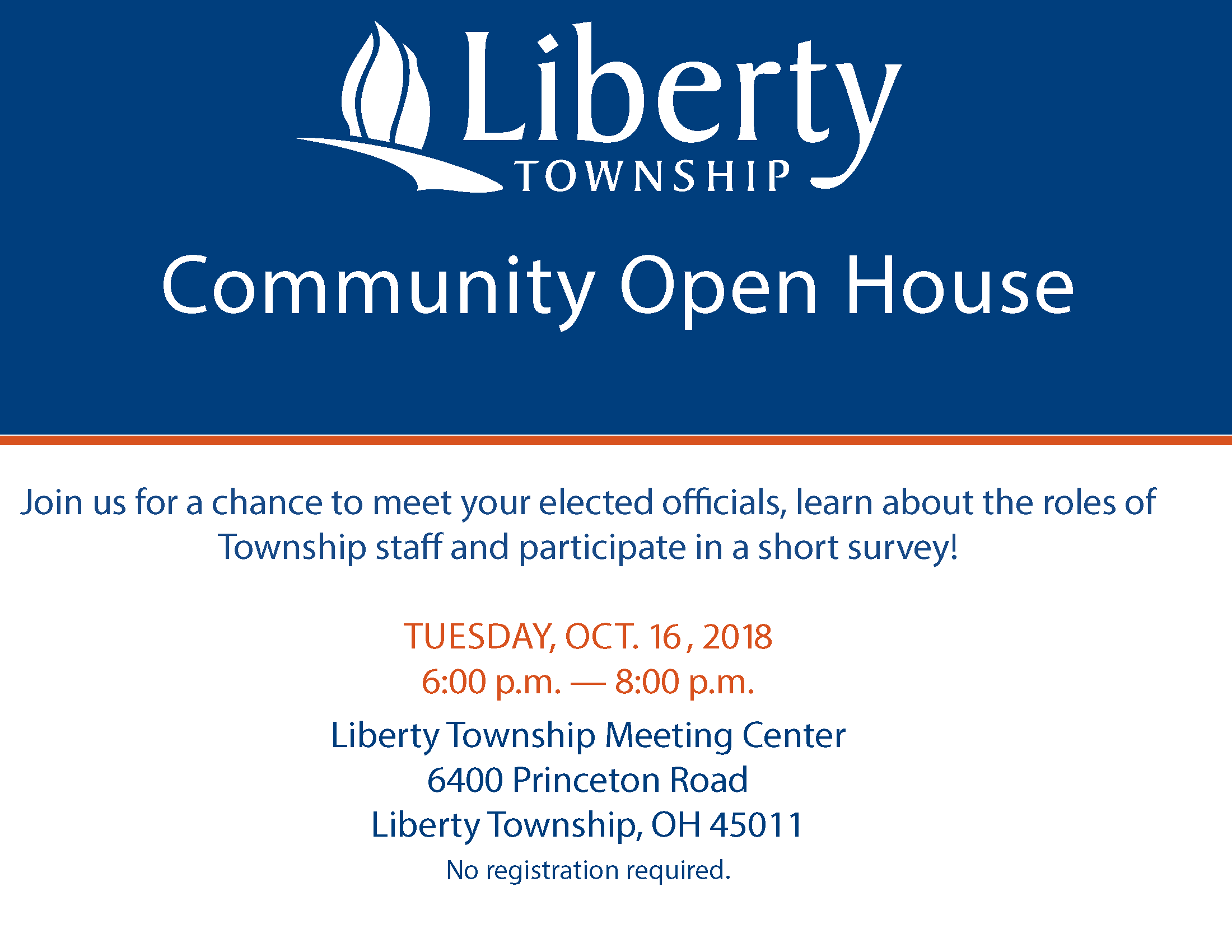 2018 Community Open House