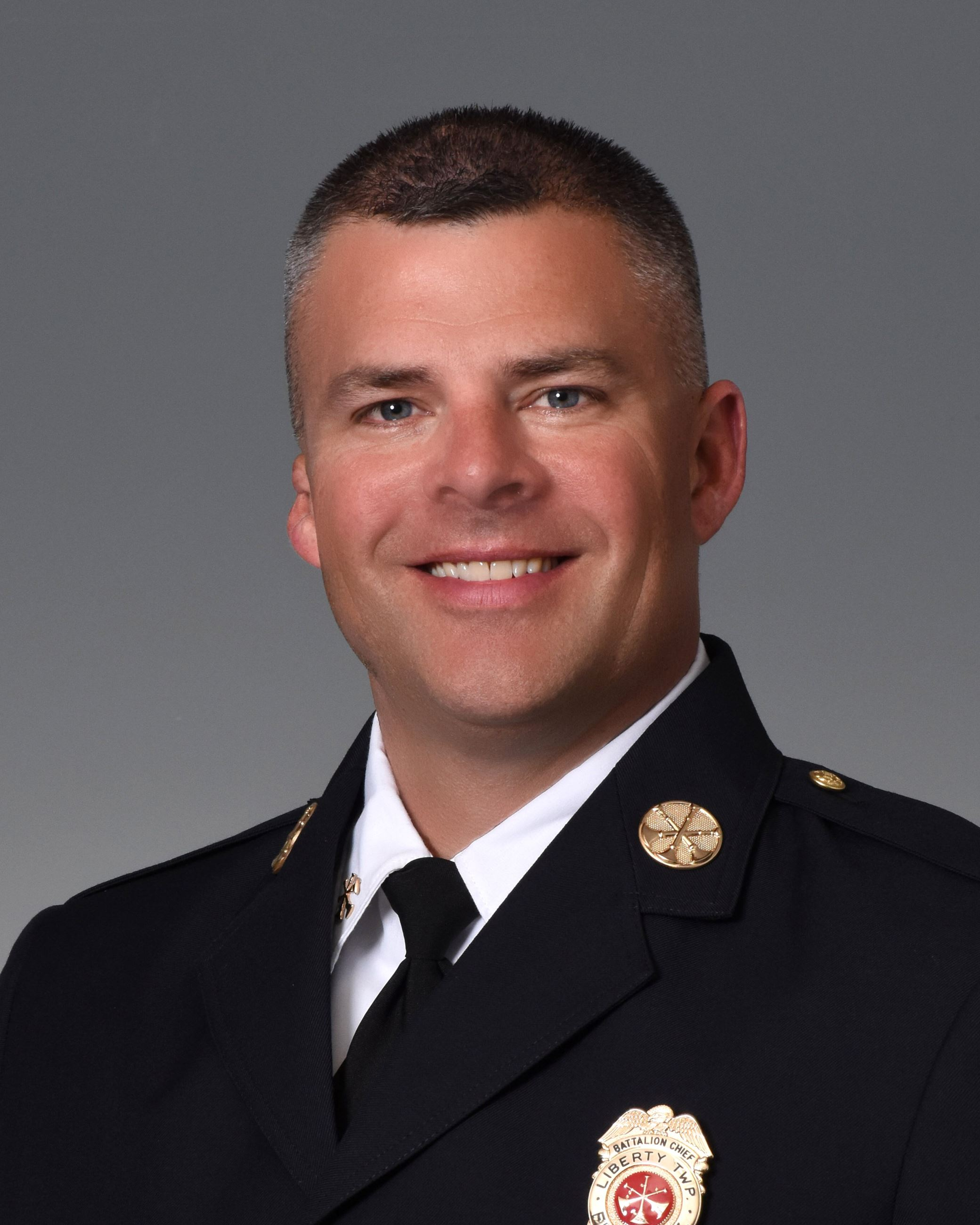 Battalion Chief Robert Morton