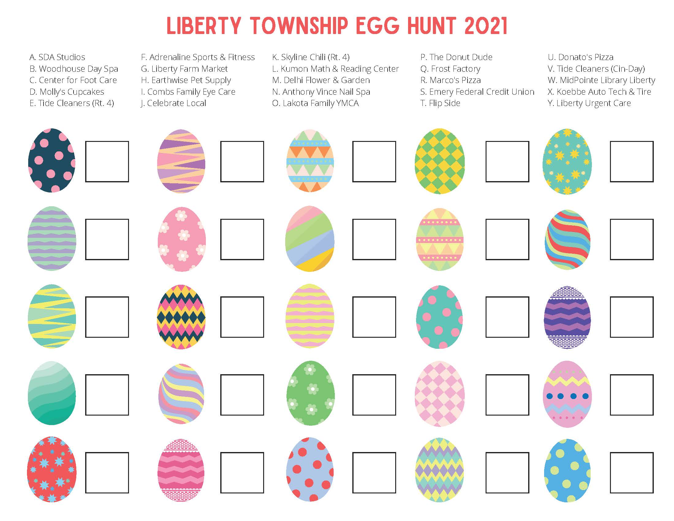 Copy of Liberty Township Egg Hunt - Worksheet_Page_1
